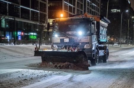Warszawa. Akcja zima - pełna mobilizacja.