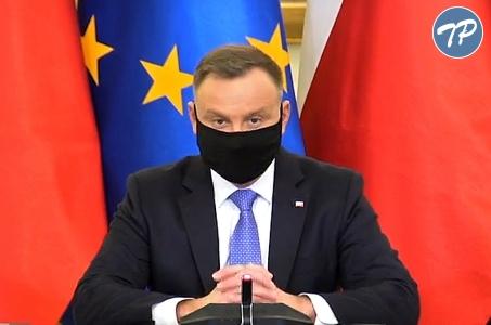 Andrzej Duda: Trzecia fala pandemii koronawirusa jest absolutnie ewidentna.