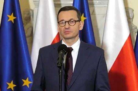 Mateusz Morawiecki: Nie zgadzamy się na branie zakładników.