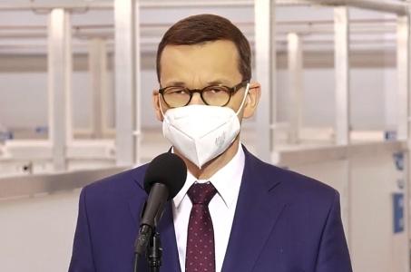 Mateusz Morawiecki: Będziemy w najbliższym czasie wdrażać kolejne obostrzenia.