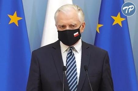 Jarosław Gowin: Brak maski może zabić!
