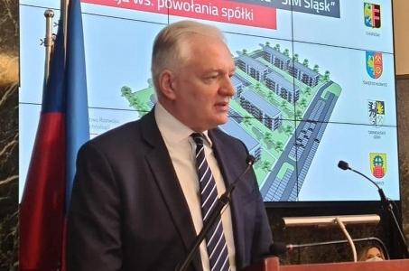 Jarosław Gowin: Polska rozwija się tam, gdzie dochodzi do współpracy między rządem a samorządem.