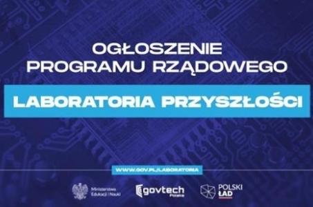 Laboratoria Przyszłości - największe w historii wsparcie dla wszystkich szkół podstawowych w Polsce!