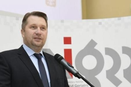 Otwarcie Centrum Wsparcia Badań Klinicznych z udziałem Ministra Edukacji i Nauki Przemysława Czarnka.
